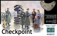 Masterbox 1:35 scale model kit figures  - Checkpoint Set  MAS3527
