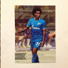 AXEL WITSEL #184 Club Zenit #ed/10 Made 2016 Topps Champions UEFA 5X7 GOLD