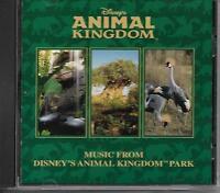 """DISNEY'S ANIMAL KINGDOM""....MUSIC FROM ANIMAL KINGDOM PARK......OOP SOUVENIR CD"