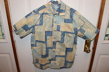 Batik Bay Hawaiian Shirt - Size: Medium - Tropical shirt 100% cotton - M