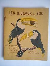 """""""Les oiseaux du zoo"""" Les petits père castors 1941"""