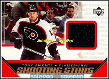 UPPER DECK 2005 TONY AMONTE PHILADELPHIA FLYERS SHOOTING STARS GAME JERSEY #STA