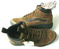 Vans Mens UltraRange Hi DI MTE Boots Dachshund Brown Suede Black Size 7.5 NWT