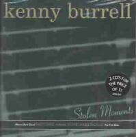 KENNY BURRELL - STOLEN MOMENTS: TIN TIN DEO/MOON AND SAND NEW CD