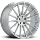 4 20 Staggered Road Force Wheels Rf15 Silver Rims B3
