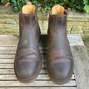 Dr Martens 2976 Gaucho, Crazy Horse Mens Boots docs Size UK 9  EU 43 US 10 M