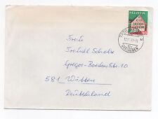 1977 SWITZERLAND Cover HORLAUBEN DAVOS To WITTEN GERMANY Scholz