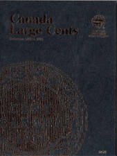 2478  WHITMAN FOLDER CANADA LARGE CENTS STARTING 1858-1920