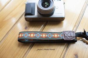 Handmade Vintage Isabella camera strap Neck strap for EVIL DC and film camera