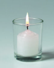 Votive Candle Cup Clear Glass 2.5 Inches