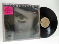 FOREIGNER inside information LP EX+/EX-, 81808-1, vinyl, album, with lyric inner