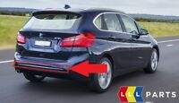 BMW NEW GENUINE 2 SERIES F45 ACTIVE TOURER REAR BUMPER TRIM LUXURY LINE CHROME