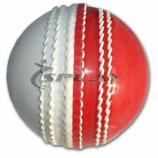 Ram Cricket Leather Coaching Ball Red//White Box Of 6 Senior and Junior Sizes