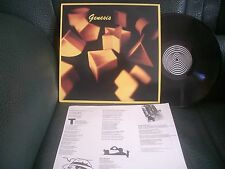 GENESIS - Genesis ~ Hong Kong pressing LP on Vertigo/Swirl label with insert