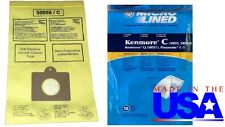 50 Vacuum bags to fit Kenmore Type C 5055&50558,Q 50557