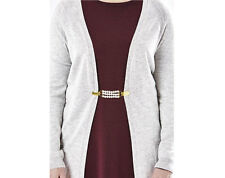 Cardigan Clips Fashion Elasticated Coat Jacket Clasp Connector Dress Blouse ***