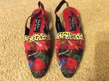 Nicole Miller by Stuart Weitzman women's Size 8 AA Slingback Shoes
