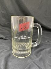 Vintage Schlitz Beer Glass Mug With Handle The Beer That Made Milwaukee Famous