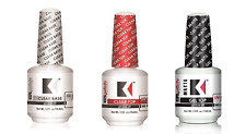 KUPA GelFinity Gel Polish BASE, No Cleanse TOP, and MATTE Top Coat .5oz/15mL 3ct