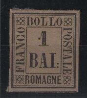 G129408/ ROMAGNA / ITALIAN STATE / SASSONE # 2 MINT MH - CV 120 $