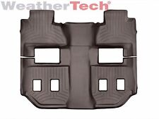 WeatherTech FloorLiner Mats for Chevy Suburban/ GMC Yukon XL - 2015-2018 - Cocoa
