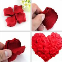 500 Stück Silk künstliche Blumen Rosenblätter Recycling Party Hochzeit Dekor