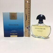 Guerlain Shalimar Eau Legere Light Fragrance USED? 1.7 oz 50mL Eau De Toilette