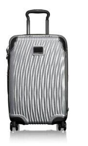 Tumi Latitude Carry-on Silver Luggage NWT $795