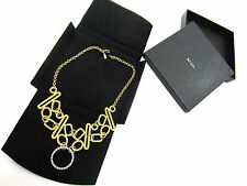 Paul Smith VERY RARE Gold Plated Necklace Brand New in the Box