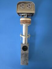 Hubbell PT7PP2  Fire Rated Poke-Thru w/ Service Pedestal and Junction Box