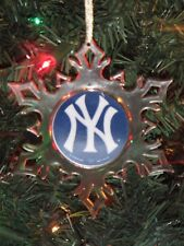New York Yankees Personalized Snowflake Ornament Yankees Personalized Ornament