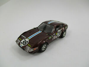 FERRARI 365 GTB-4 #38 LE MANS 1972 TOP MODEL 1/43