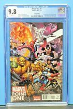 2012 Marvel Point One #1 Variant 1st Alexander Nova CGC Graded 9.8 Rare Key Hot