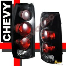 88-98 Chevy GMC C/K C10 1500 2500 Truck Silverado Sierra Dark Smoke Tail Lights