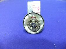 vtg badge rifle brigade sweetheart mother of pearl ww1 kings home front silver ?
