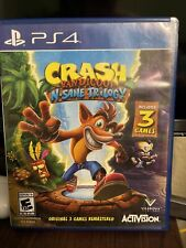 Crash Bandicoot: N. Sane Trilogy (PlayStation 4, 2017) Complete Tested Working