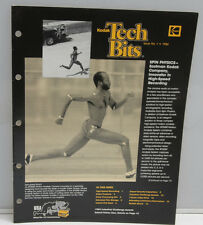 Kodak Tech Bits No 1 1984 Science Law Edwin Moses Photo P-3-84-1 Magazine B117