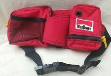 Vintage Marlboro Adventure Gear Red Fanny Pack Pouch Camping Hiking Bag