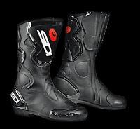 NEU SIDI Motorradstiefel Fusion schwarz Gr. 47 Racing Motorrad Stiefel NEW