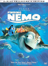 Finding Nemo (DVD, 2003, 2-Disc Collector's Edition) NEW