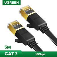 UGREEN 5m Ethernet Kabel Cat7 Gigabit Lan Netzwerkkabel RJ45 10Gbps Verlegekabel