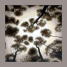 art painting Tree Forest Woods canvas  Aboriginal  print