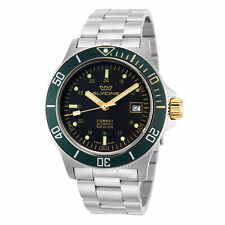Glycine Men's Combat Sub GL0272 42mm Black Dial Stainless Steel Watch