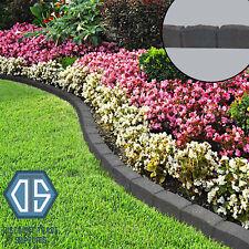 Primeur Graphite Flexi Curve Lawn Edging 1.2m Roman Stone Border Garden Free P&P