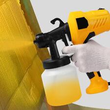Paint Sprayer 400W HVLP Home Electric Spray Gun 800ML Detachable Container 110V