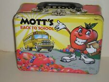 Mott'S Lunchbox, Good Condition, No Thermos