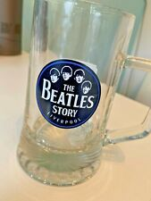 The Beatles Story - Memorabilia Glass