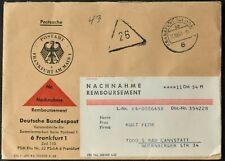 Germania 1963 nachnahme Remboursement, contanti alla consegna Copertura #C55940