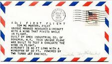 1979 AD-I First Flight Tom Mc Murtry Pilot Ircraft Edwards Two Turbo Jet Engines