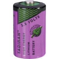 Tadiran Lithium Battery 1/2 AA 3.6V Volt LS14250 SL-750 - Infinite alarm PIR MAC